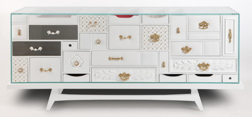 white Mondrian unique bedroom furniture
