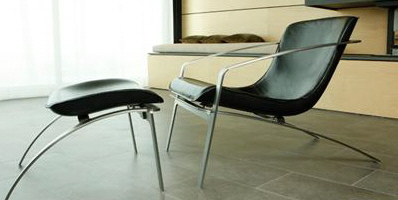 ANIMAVI CONTEMPORARY CLUB CHAIR AND OTTOMAN