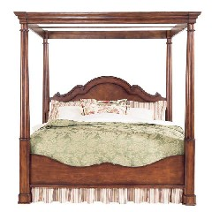 Bassett Louis-Philippe Poster Canopy Bed