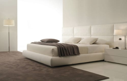 Dream2 leather platform bed marcel wanders