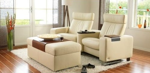 EKORNES STRESSLESS SPACE HOME THEATER SEATING