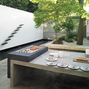 ELECTROLUX INTEGRATED BBQ BARBEQUE GRILL