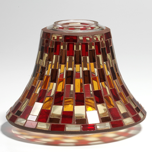 GLASS CANDLE SHADE YANKEE CANDLE