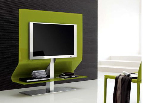 GLASS TV STANDS HOME THEATER FURNITURE