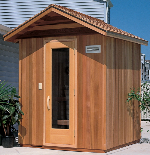 HOME SAUNAS AVALON OUTDOOR SAUNA