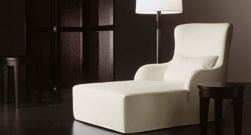 LIU RELAX CHAISE LOUNGE MERIDIANI HOME FURNITURE