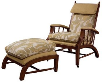 Relax in a Beautiful Teak Chaise Lounge 6