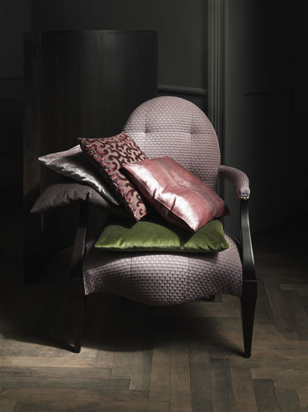 MODERN AND CLASSIC INTERIOR FABRICS AND TEXTILES