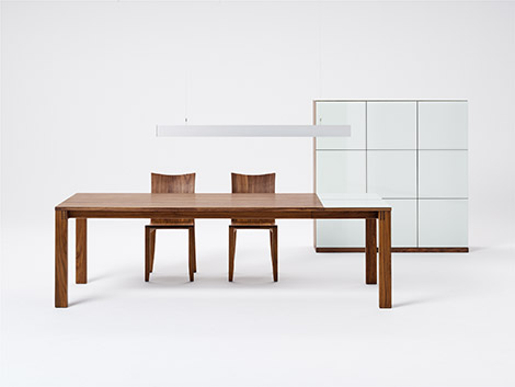 Magnum solid wood modern dining tables team 7