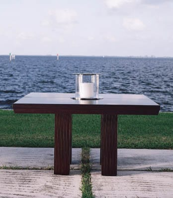 Nautica Modern square dining table