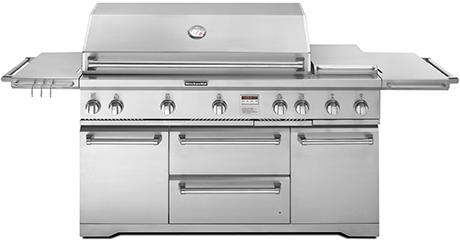 Stainless Steel Gas Grills by KitchenAid