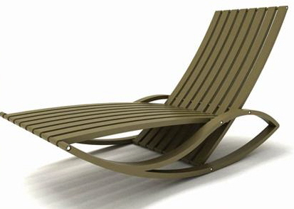 ZONZA ROCKING CHAISE BY EDUARDO BARONI