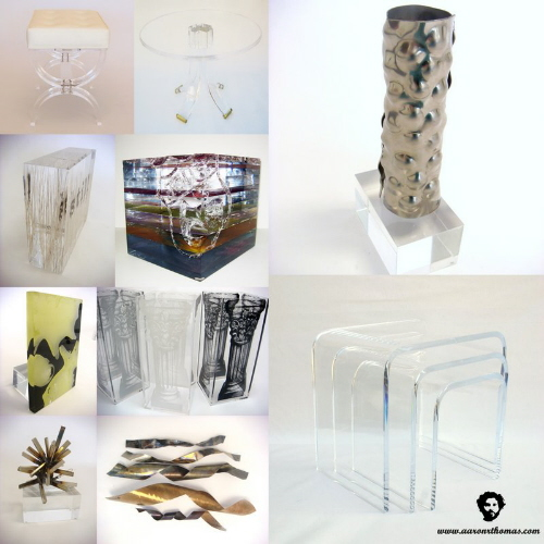 acrylic decorative home accessories and home furnishings