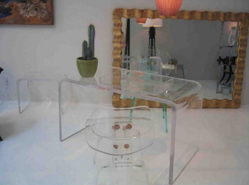 acrylic furniture tables and chairs home furnishings