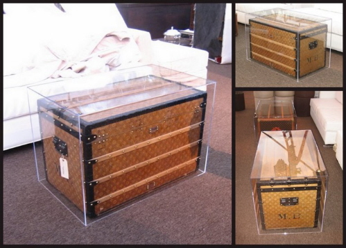 acrylic storage chest and home furnishings