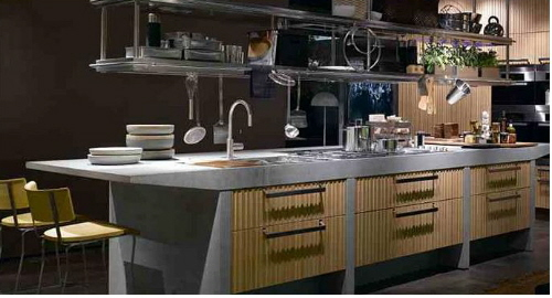 arclinea modern kitchen islands and cabinets