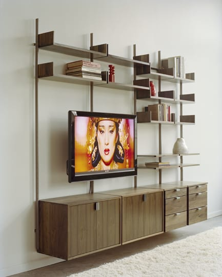as4 wall mounted modular tv stand shelving entertainment system
