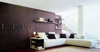 atoll corner sofa wall unit bed