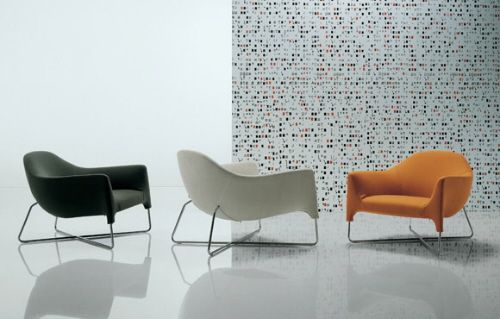 bali modern armchair poliform carlo colombo