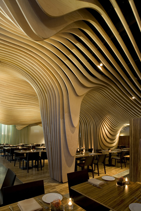banq rest modern restraunt contemporary interior design
