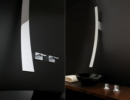 bathroom fixtures and modern faucets