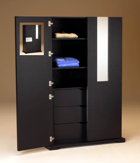 bedroom armoire modern furniture storage wardrobe