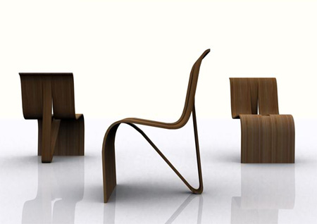 bent wood stackable chairs misosoup design