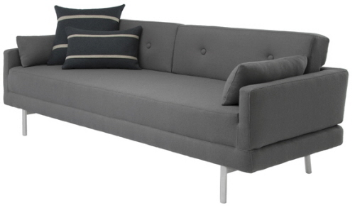 blu dot modern sleeper sofa convertible couch