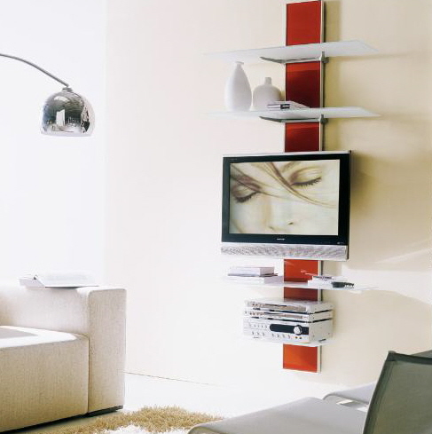 bontempi contemporary wall mounted tv stands