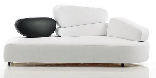 Mosspink Sofa: Ultra Modern Seating Design from Brühl