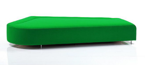 bruhl mosspink modern contemporary sofa daybed seating