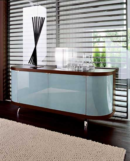 The Cool Shape of the Bend Buffet from Calligaris 5
