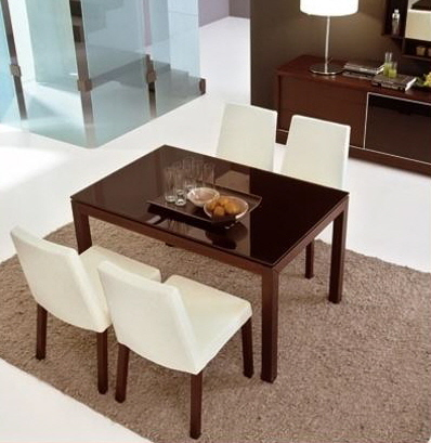 calligaris modern italian furniture dining table and chairs