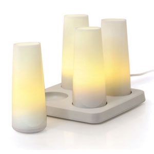 candela rechargeable candles contemporary lights