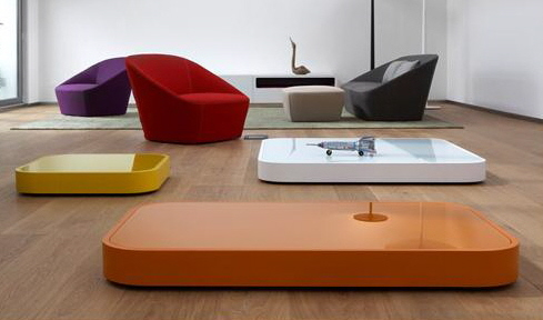 cell low coffee table on wheels sphaus furniture