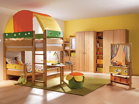 childrens bunkbed and bedroom furniture team 7