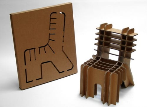 """Finish Your Self"" Children's Chair from David Graas"