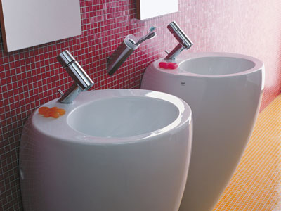 contemporary bathroom sinks tubs and vanities laufen