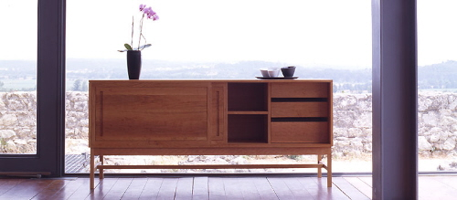 The Sleek and Slender Buffet Sideboard by Atlantico