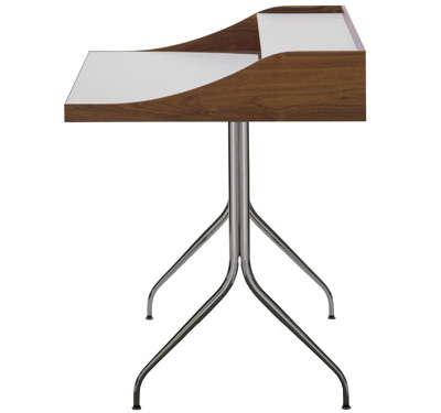contemporary laptop desk george nelson