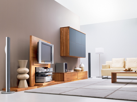 modern TV stands and entertainment centers