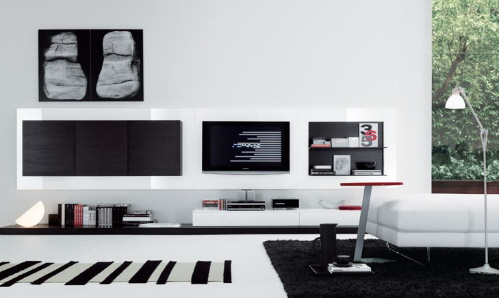 contemporary modern italian furniture plasma tv stands