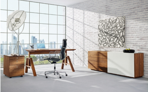 contemporary office furniture and file storage
