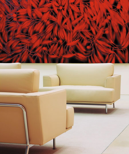 contemporary office interiors and lobby seating