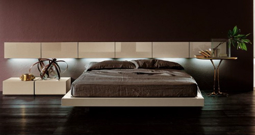 "The Versatile ""People"" Platform Bed from Pianca"