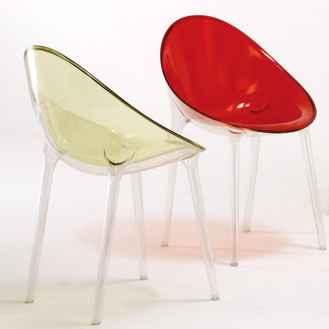 contemporary plastic chairs kartell italian furniture