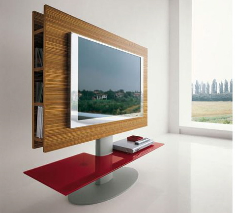 contemporary swivel glass tv stands tonin casa