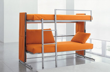 doc convertible sleeper sofa bunk bed