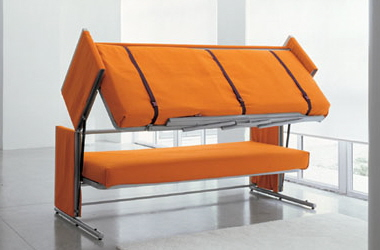 A Convertible Sofa Bed taken to New Heights
