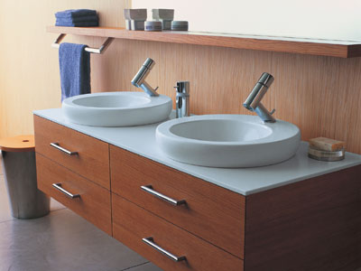 double sink vanity laufen one modern bathrooms